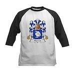 Pierrot Family Crest Kids Baseball Jersey