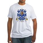 Pierres Family Crest Fitted T-Shirt
