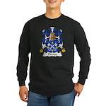 Pierres Family Crest Long Sleeve Dark T-Shirt
