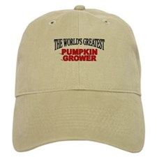 """The World's Greatest Pumpkin Grower"" Baseball Cap"