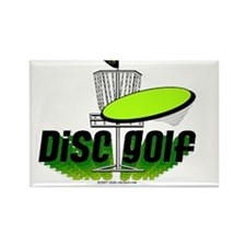 Dics Golf Rectangle Magnet (10 pack)