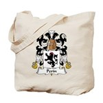 Perin Family Crest Tote Bag