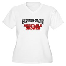 """""""The World's Greatest Vegetable Grower"""" T-Shirt"""