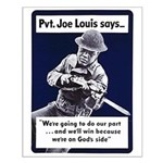Soldier On God's Side Small Poster