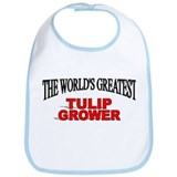 """The World's Greatest Tulip Grower"" Bib"