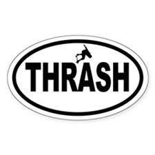 Thrasher Oval Decal