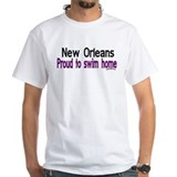 NOLA Proud To Swim Home Shirt