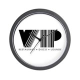 VIP Disco Wall Clock
