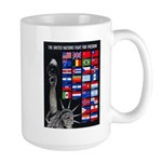 United Nations Freedom Large Mug