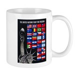 United Nations Freedom Mug