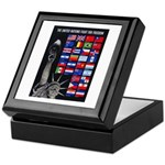 United Nations Freedom Keepsake Box