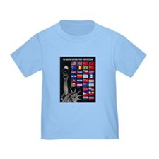 United Nations Freedom (Front) T