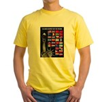United Nations Freedom (Front) Yellow T-Shirt