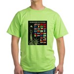 United Nations Freedom (Front) Green T-Shirt