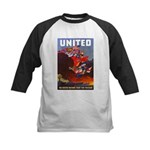 Fight For Freedom Kids Baseball Jersey