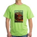 Fight For Freedom Green T-Shirt