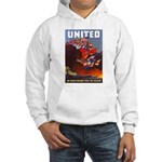 Fight For Freedom (Front) Hooded Sweatshirt