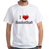 I Love Basketball Shirt