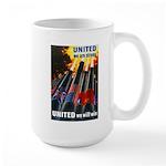 United We Win Large Mug