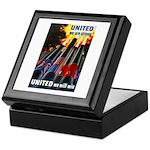 United We Win Keepsake Box