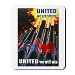 United We Win Mousepad