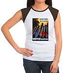 United We Win Women's Cap Sleeve T-Shirt