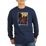 United We Win (Front) Long Sleeve Dark T-Shirt