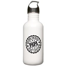 Popa - The Man, The Myth, The Legend Water Bottle