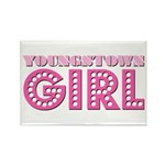 Youngstown Girl Rectangle Magnet