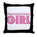 Youngstown Girl Throw Pillow