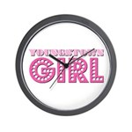 Youngstown Girl Wall Clock