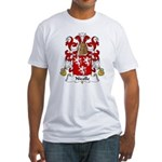 Nicolle Family Crest Fitted T-Shirt