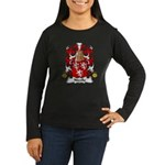 Nicolle Family Crest Women's Long Sleeve Dark T-Sh