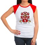Nicolle Family Crest Women's Cap Sleeve T-Shirt