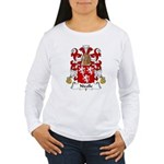 Nicolle Family Crest Women's Long Sleeve T-Shirt