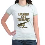 Licensed Sax Therapist Jr. Ringer T-Shirt