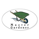 Master Gardener Oval Decal