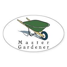Master Gardener Oval Decal