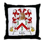 Mille Family Crest Throw Pillow