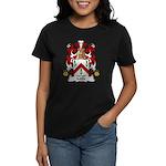 Mille Family Crest Women's Dark T-Shirt