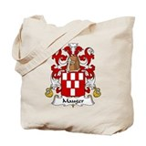 Mauger Family Crest Tote Bag