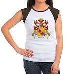Marcel Family Crest Women's Cap Sleeve T-Shirt