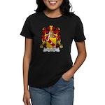 Marcel Family Crest Women's Dark T-Shirt