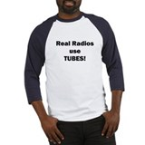 Real Radios Use TUBES! Baseball Jersey