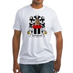 Lefrancois Family Crest  Fitted T-Shirt