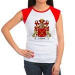 Lefranc Family Crest Women's Cap Sleeve T-Shirt