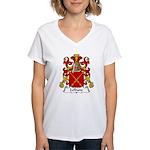 Lefranc Family Crest Women's V-Neck T-Shirt