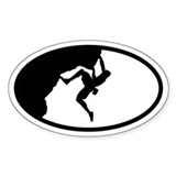 Climber Oval Decal