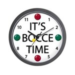 It's Bocce Time! Clock