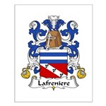 Lafreniere Family Crest Small Poster